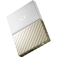"WD 2,5"" My Passport Ultra Metal 1 TB weiß/gold - Externe Festplatte"