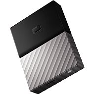 "WD 2.5"" My Passport Ultra Metal 2 B schwarz / grau slim - Externe Festplatte"