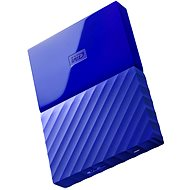 "WD 2.5"" My Passport 1TB blau - Externe Festplatte"