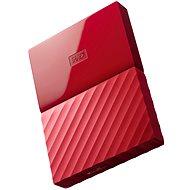 "WD 2.5"" My Passport 1TB-rot - Externe Festplatte"