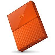 "WD 2.5"" My Passport 4TB Orange - Externe Festplatte"