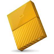 """WD 2.5"""" My Passport 4TB gelb - Externe Festplatte"""