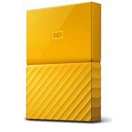 "WD 2.5"" My Passport 2 TB Yellow Slim - Externe Festplatte"