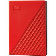 WD My Passport 4TB, rot - Externe Festplatte
