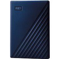 WD My Passport für Mac 4 TB, blau - Externe Festplatte