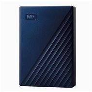WD My Passport für Mac 5 TB, blau - Externe Festplatte