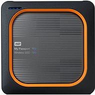 "WD 2,5 ""My Passport Wireless 250 GB SSD USB 3.0 SD - Datenspeicher"