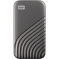 WD My Passport SSD 2TB, grau - Externe Festplatte