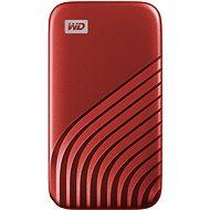 WD My Passport SSD 2TB, rot - Externe Festplatte