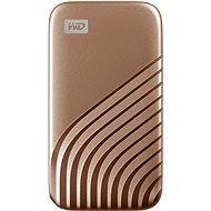 WD My Passport SSD 2TB, golden - Externe Festplatte