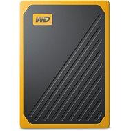 Externe Festplatte WD My Passport GO SSD 1TB, gelb