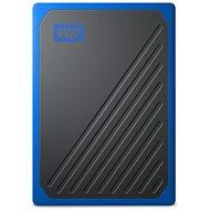 WD My Passport GO SSD 2TB, blau - Externe Festplatte