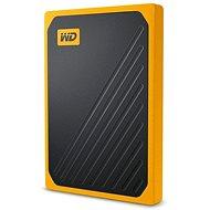WD My Passport GO SSD 2TB, gelb - Externe Festplatte