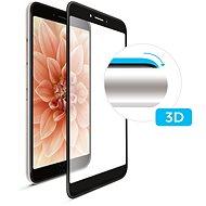 FIXED 3D Full-Cover für Huawei Y7 (2019) mit Verklebung über das ganze Display schwarz - Schutzglas