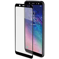 CELLY Full Glass für Samsung Galaxy A6+ (2018) schwarz - Schutzglas