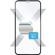 FIXED 3D Full-Cover für Apple iPhone XR/11 Schwarz - Schutzglas