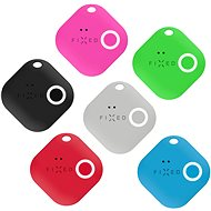 FIXED Smile Bluetooth-Tracker mit Bewegungssensor SECHSERPACK - Schwarz + Grau + Rot + Blau + Grün + Pink - Bluetooth Lokalisierungschip