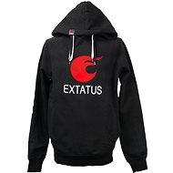 eXtatus mikina bez sponzorů černá S - Sweatshirt