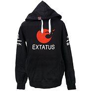 eXtatus mikina se sponzory černá S - Sweatshirt