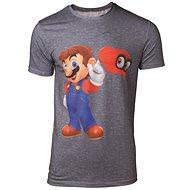 T-Shirt: Super Mario - Odyssey Mario & Cappy - T-Shirt