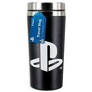 PlayStation - Reisebecher mit PS-Logo - Reisebecher
