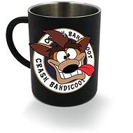 Crash Bandicoot - Metallbecher - Tasse