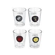 Das Spiel des Throns - Stamprle (4x) - Gläser für kalte Getränke