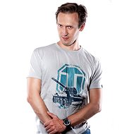 World of Tanks - Weißes Logo - T-Shirt