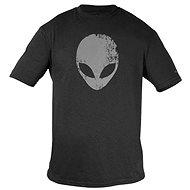 Dell - Alienware Distressed Head T-Shirt für Gaming-Ausrüstung Grau - M - T-Shirt