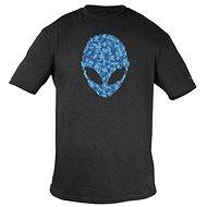 Dell - Alienware Alien Ultramodern Puzzle Head Gaming Gear T-Shirt - L - T-Shirt