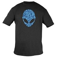 Dell - Alienware Alien Ultramodern Puzzle Head Gaming Gear T-Shirt - XXL - T-Shirt