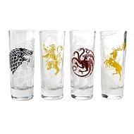 Game Of Thrones Siegel (4x Schnapsgläser) - Gläser für kalte Getränke