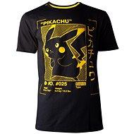 Pokémon Pikachu Profil - T-Shirt M - T-Shirt