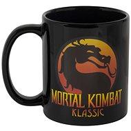 Mortal Kombat Logo Heat Mug - Becher - Tasse