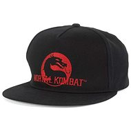 Mortal Kombat Dragol Logo Snapback - Cap - Cap
