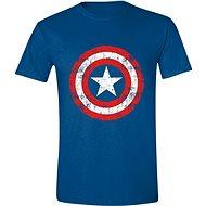 Captain America Cracked Shield - T-Shirt - T-Shirt