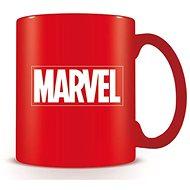 Marvel Logo rot Tasse - Tasse