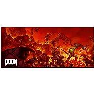Doom Retro Oversized - Tastaturmatte und Mousepad - Maus- und Tastatur-Unterlage