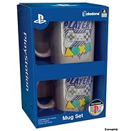 Playstation Player One and Two - Geschenkset - Tasse