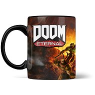 Doom Metal Badge Heat Mug - Becher - Tasse