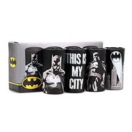 Batman Poses - Becherset - 4-teilig - Glas-Set