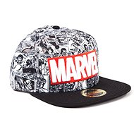 Marvel Classic Red and White Logo - Baseball-Cap - Cap