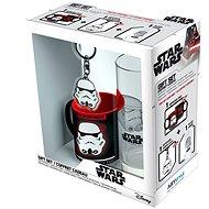 Star Wars - Stormtrooper - Minibecher, Glas, Anhänger - Geschenkset