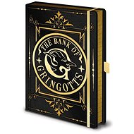 Notizbuch Harry Potter - The Bank of Gringotts - Notizbuch