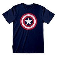 Captain America - Shield Distressed - T-Shirt XXL - T-Shirt