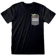 Star Wars Mandalorian - Precious Cargo Pocket - T-Shirt L - T-Shirt