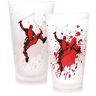 Glas Deadpool - Glas (wechselt die Farbe)