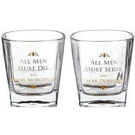 Game of Thrones - All Men Must Die - 2x Brille - Whiskeygläser