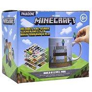 Minecraft - Build a Level - Becher mit Aufklebern - Tasse