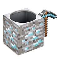 Minecraft - Spitzhacke - Keramik 3D Becher